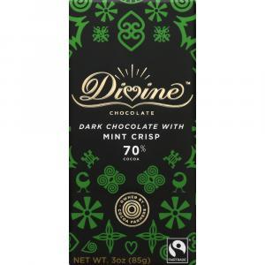 Divine Dark Chocolate with Mint Crisp Bar