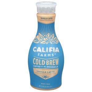 Califia Farms Cafe Latte Cold Brew Coffee With Almondmilk