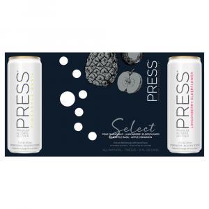 Press Premium Alcohol Seltzer Variety Pack
