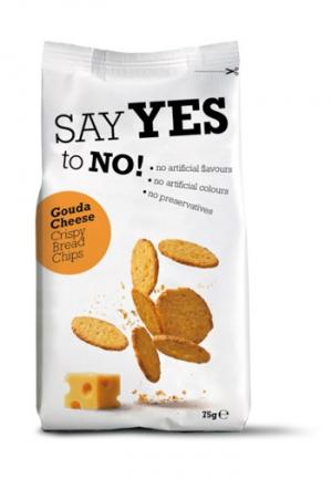 Say Yes To Gouda Cheese Bread Crisps