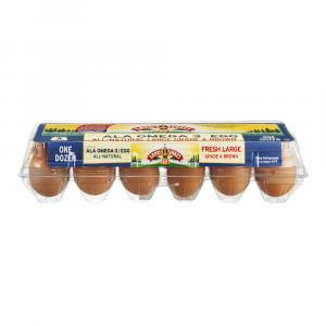 Land O Lakes Large Brown Eggs Omega 3