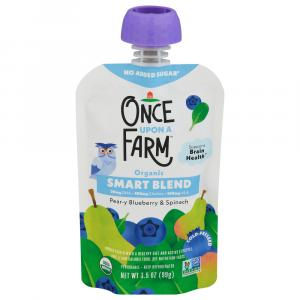 Once Upon A Farm Organic Pear-y Blueberry & Spinach