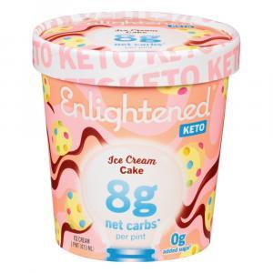 Enlightened Keto Ice Cream Cake