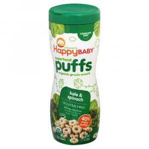Happy Baby Organic Puffs Kale & Spinach