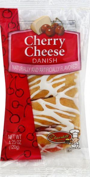 Cloverhill Bear Claw Cherry Cheese