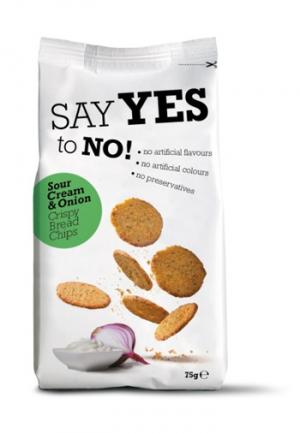 Say Yes To Sour Cream & Onion Bread Crisps