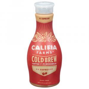 Califia Farms Xx Espresso Cold Brew Coffee With Almond Milk