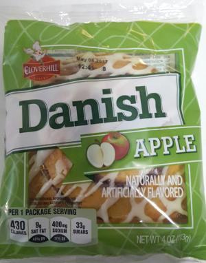 Cloverhill Apple Danish