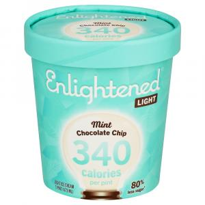 Enlightened Mint Chocolate Chip Ice Cream