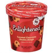 Enlightened Keto Caramel Chocolate Double Dough
