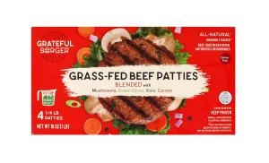 Grateful Grass Fed Beef Patties