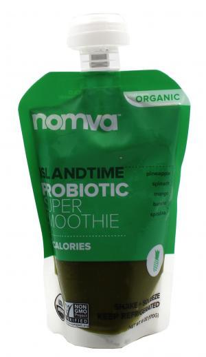Nomva Organic Island Time Probiotic Smoothie