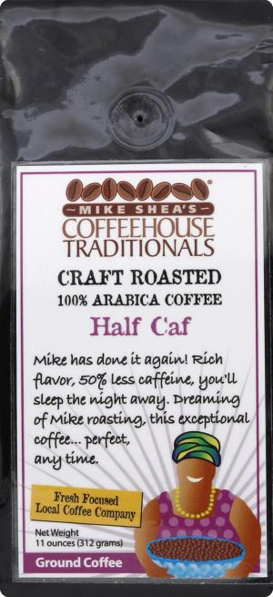Mike Shea's Half Caf Ground Coffee
