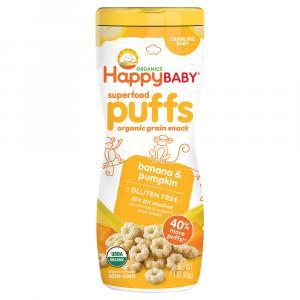 Happy Baby Organic Puffs Banana & Pumpkin