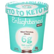Enlightened Keto Collection Mint Chocolate Chunk Ice Cream