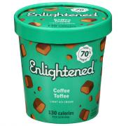 Enlightened Cold Brew Coffee Ice Cream