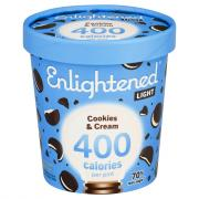 Enlightened Cookies & Cream Ice Cream