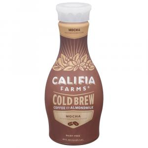 Califia Farms Mocha Pure Cold Brew Coffee With Almond Milk