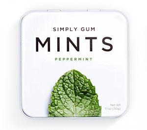 Simply Gum Mints Peppermint