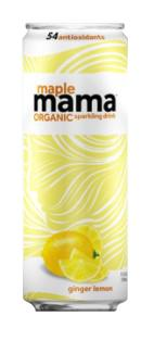 Maple Mama Organic Sparkling Ginger Lime