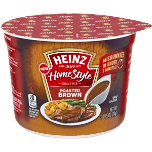 Heinz HomeStyle Roasted Brown Microwave Gravy Mix