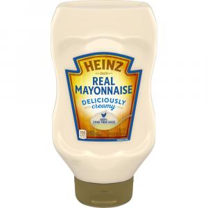 Heinz Real Mayonnaise Made With 100% Cage Free Eggs