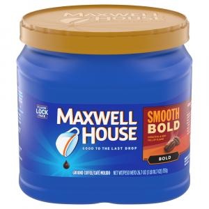 Maxwell House Smooth Bold Coffee Can