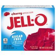 Jell-O Sugar Free Cherry Gelatin