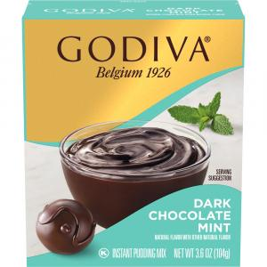 Godiva Instant Chocolate & Peppermint Pudding
