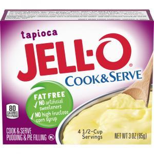 Jell-O Americana Instant Pudding Mix