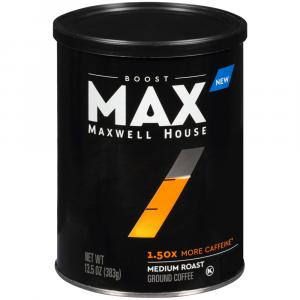Maxwell House Max Boost 1.50x More Caffeine Coffee