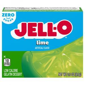 Jell-O Sugar Free Lime Gelatin
