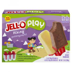 Jell-o Chocolate And Vanilla Pudding Pops Mold Kit