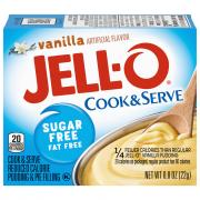 Jell-O Sugar Free Vanilla Pudding Mix
