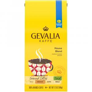 Gevalia House Blend Decaf Ground Coffee