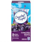Crystal Light Concord Grape Pitcher Pack Drink Mix
