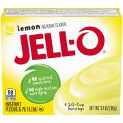 Jell-O Lemon Instant Pudding Mix