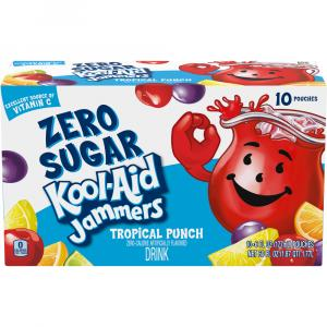 Kool-Aid Jammers Zero Sugar Tropical Punch