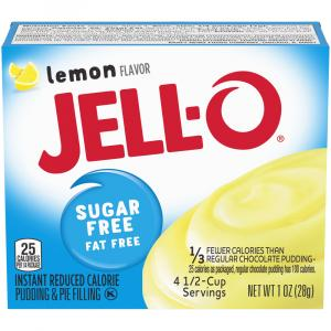Jell-O Sugar Free Instant Lemon Pudding