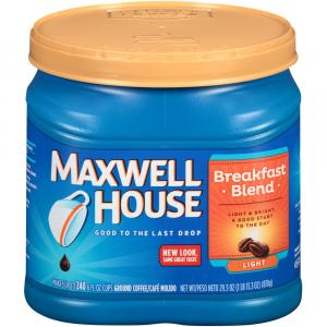 Maxwell House Breakfast Blend Coffee