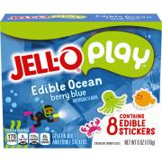 Jell-O Play Edible Ocean Gelatin and Edible Stickers