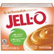 Jell-O Butterscotch Instant Pudding Mix