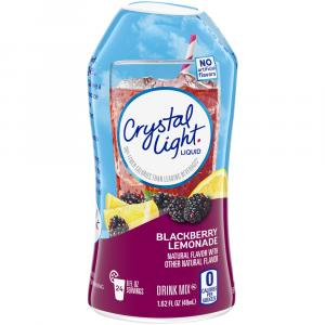 Crystal Light Blackberry Lemonade Liquid Water Enhancer