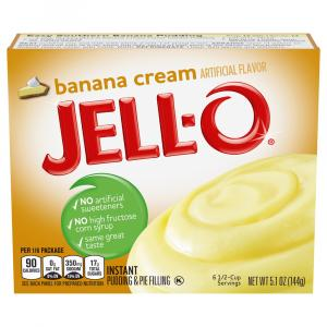 Jell-O Instant Pudding & Pie Filling Banana Cream