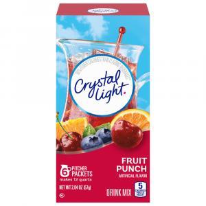 Crystal Light Fruit Punch 12-quart