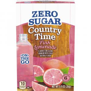 Country Time On The Go Sugar Free Pink Lemonade