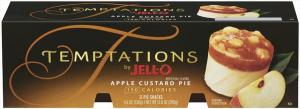 Jell-o Apple Custard Pie Temptations