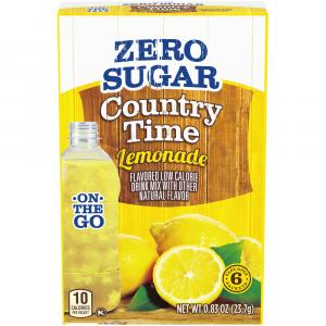 Country Time On The Go Sugar Free Lemonade