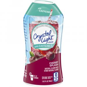 Crystal Light w/ Caffeine Cherry Splash Refresh