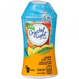 Crystal Light Lemon Tea Liquid Water Enhancer